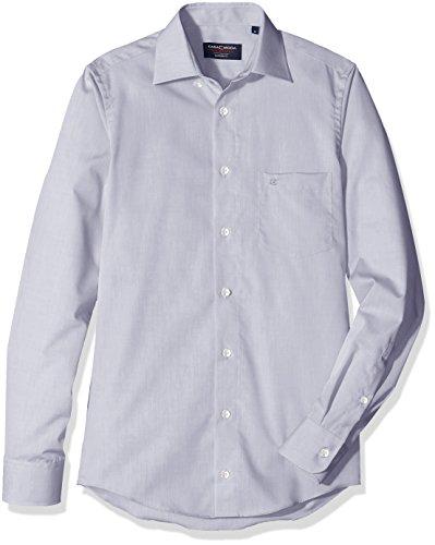 CASAMODA Herren Businesshemd Silber (Silber 701)