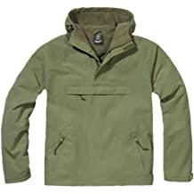 Brandit Herren Windbreaker, Color:oliv;Größe:XL