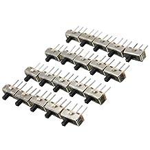 Yongse SS12D00G3 2 posities SPDT 1P2T 3-pins PCB paneel mini verticale slide schakelaar
