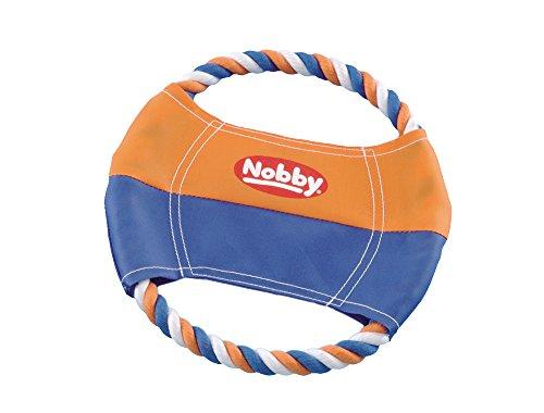 Nobby 79315 Nylon Frisbee mit Baumwollring