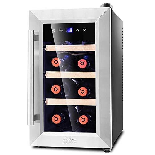 Cecotec Vinoteca 8 Botellas Capacidad 25L. Diseño