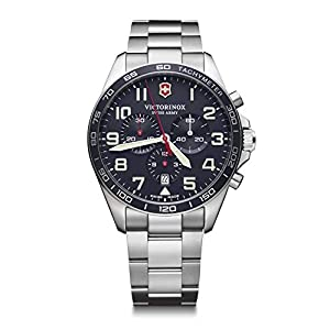 Victorinox Hombre Field Force Chronograph – Reloj de Acero Inoxidable