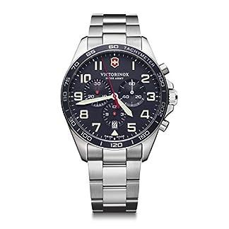 Victorinox Hombre Field Force Chronograph – Reloj de Acero Inoxidable de Cuarzo analógico de fabricación Suiza 241857