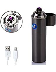 USB Briquet, Di-lighter Briquets Arc électrique Forhu 2017 Nouvelle Version Coup-vent USB Rechargeable Tempête Briquet.