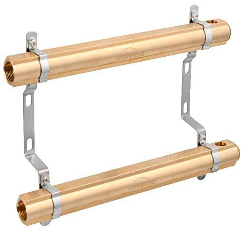 4-Ports Laiton Chauffage Distributeur Bâtiment Circuit Collecteur Système