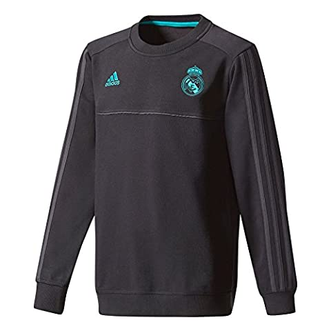Adidas SWT Top y Real Madrid, Sweat Enfant, bébé, Real Swt Top Y Real Madrid, noir
