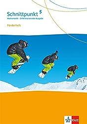 Schnittpunkt Mathematik 5. Differenzierende Ausgabe: Förderheft mit Lösungen Klasse 5 (Schnittpunkt Mathematik. Differenzierende Ausgabe ab 2017)