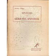 SINTESIS DE GEOGRAFIA UNIVERSAL