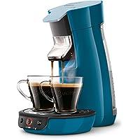 Senseo Viva Café HD7829/70 - Cafetera (Independiente, Máquina de café en cápsulas, 0,9 L, Dosis de café, 1450 W, Azul)