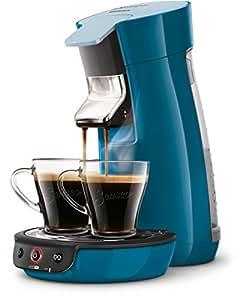 Senseo HD7829/70 Viva Café Kaffeepadmaschine (Kaffee Boost Technologie) blau