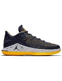 finest selection e1d3b 7db71 Air Jordan XXXII 32 Low Michigan Wolverines Basketball Shoes AA156-405  (11.5)