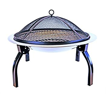Dreibein-Grill Feuerstelle mit Grillfunktion Schwenkgrill  mit Feuerschale
