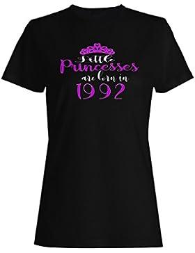 Pequeñas princesas nacen en 1992 camiseta de las mujeres c188f
