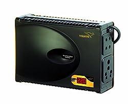 V Guard TV Stabilizer- Crystal Plus smart for LCD,LED,3D, Smart TVs upto 47