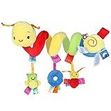 Pixnor Espiral actividades colgar juguetes del cochecito de bebé...