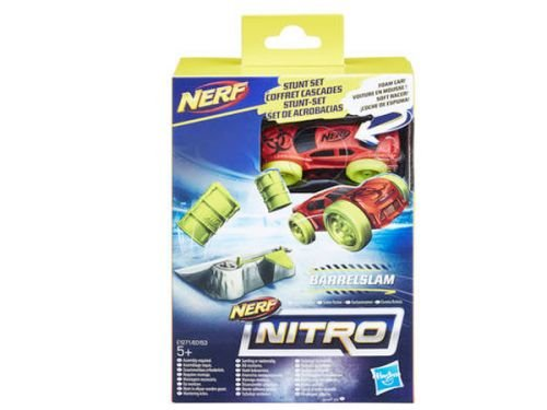 Nerf Nitro BarrelSlam - Coche y maletero