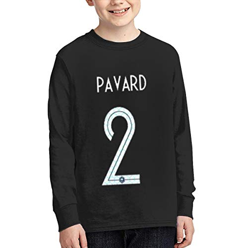 Preferred Store Benjamin Pavard France Youth Kids Long Sleeve T-Shirt for Boys