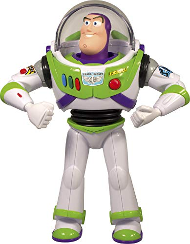 Lansay- Toy Story 4-Buzz l'Eclair Personnage Electronique Figurine, 64451