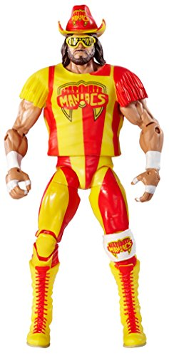 WWE - Elite Collection - Maniac Randy Savage - Action Figur 15 cm + Zubehör (Sortimentsartikel)