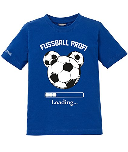 Jayess Fussball Profi Loading - Kids - Royalblau - T-Shirt by Kids Gr. 134/146