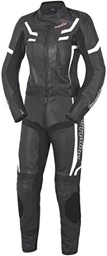 Bogotto ST-Evo Damen Lederkombi zweiteilig, Farbe schwarz-weiss, Größe D44