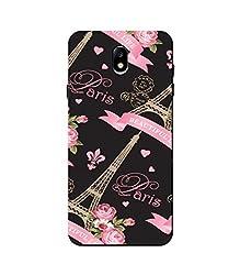 Aarfa Samsung Galaxy J5 Pro Cover, Printed Hard Case for Samsung Galaxy J5 Pro [Slimfit] [Durable] [For Girls Boys]
