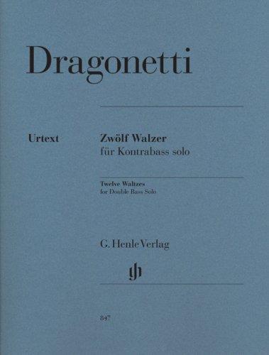 Valses (12) - Cb solo par Dragonetti