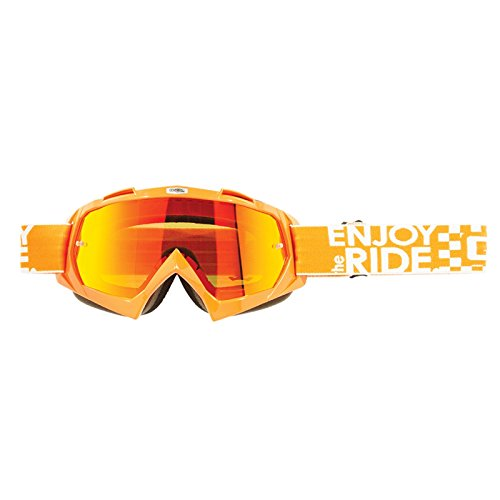 O'Neal B-Flex Goggle Launch Orange Radium Motocross Downhill Brille Offroad One Size, 6024BL-204