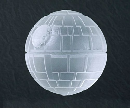 Image of Ama-ZODE Silicone Wars Death Star Round Ball Ice Cube Mold Tray Desert Sphere DIY Mould