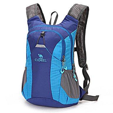 15 L Radfahren Rucksack Rucksack Camping & Wandern Reisen Radsport Draußen TrainingReflexstreifen Eingebaute Kesseltasche tragbar dark purple