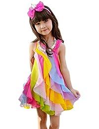 Suchergebnis auf Amazon.de für: regenbogen kleid: Bekleidung