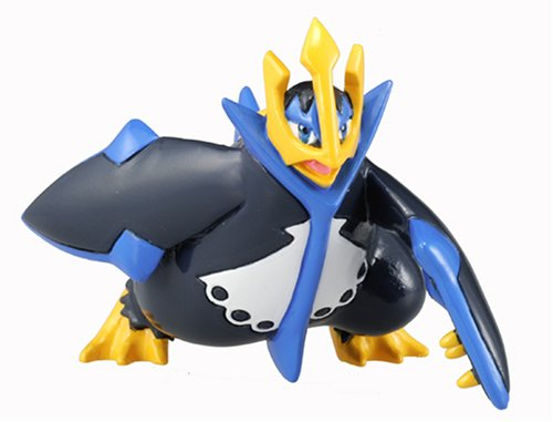 Pokemon Diamond & Pearl Japanese Battle Scene PVC Figure Battle Empoleon (japan import)