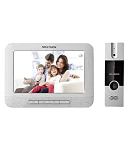 ... Hikvision 7\  Video Door Phone DS-KIS201  sc 1 st  Amazon.in & Buy Hikvision 7\