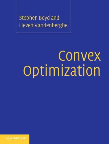 Convex Optimization (English Edition)
