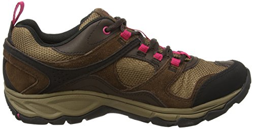 MerrellKimsey Gtx - Scarpe da Arrampicata Basse donna Multicolore (Dark Brown)