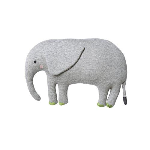 Sophie Allport Strick Kinder Kissen–Safari Elefant Form