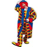 PARTY DISCOUNT KGU27714 Damen & Herren-Mantel Clown Peppi, Gr. XXL