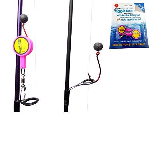 Hook-Eze - Angelwerkzeug, Hakenbinder, Line Cutter und Multitool ROSA