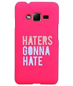KolorEdge Back Cover For Samsung Galaxy Z1 - Pink (1417-Ke15121SamZ1Pink3D)