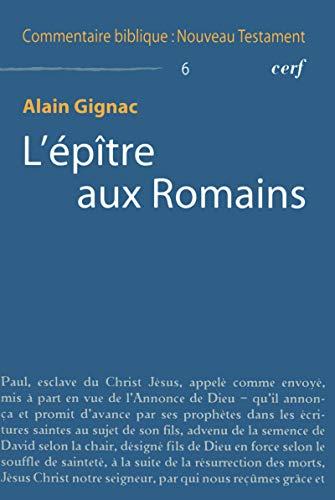 L'épître aux Romains par Alain Gignac