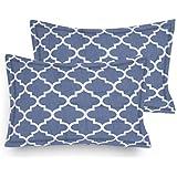 "Home Elite Designer Printed 2 Piece Cotton Pillow Cover Set - 17"" x 27"", Multicolour"