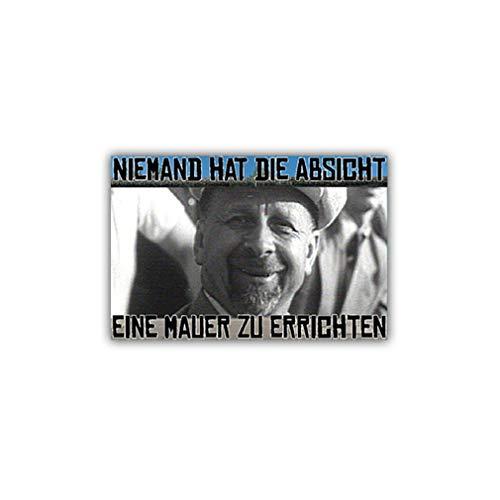 Aufkleber/Sticker Walter Ulbricht Politiker Mauer DDR Mauerfall 10x6,5cm A1096