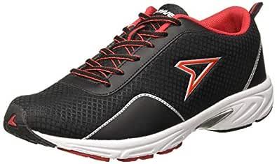 Power Men's Silva Black Running Shoes-7 UK/India (41EU) (8396986)