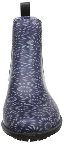 Stivali Blu In Gomma Jo_rockingham Tom Joule Ladies (navy Dandelion Geo)