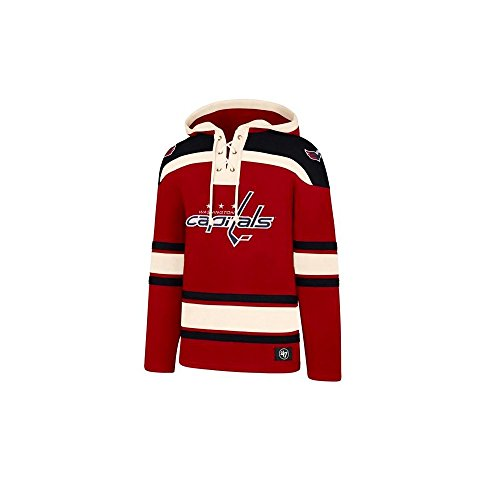 '47 NHL Washington Capitals Lacer Jersey Hood Large