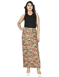 Franclo Women's Floral print Skirt