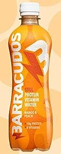 Protein Vitamin Water [Pack of 12] (Mango & Peach)