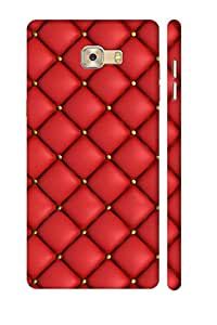 SRS Red Chocalate 3D Back Cover for Samsung Galaxy C7 Pro