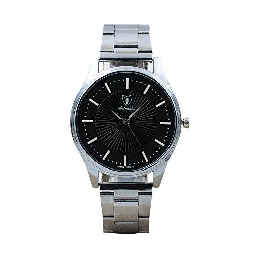 Celucke Armbanduhr Herren Quarz Uhr mit Edelstahl Metallarmband, Männer Uhren Business Herrenuhr Elegant Sportuhr Minimalistische Analoguhr Luxusuhren Klassisch Quarzuhr