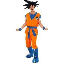 170e2bd270b9 Chaks Herren Kostüm Dragon Ball Z Goku Gr. S-XL Anime Film Fasching Karneval